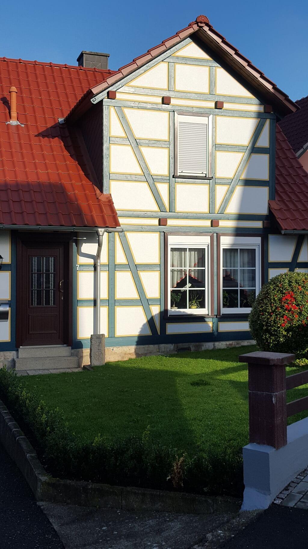 Fachwerkhaus mit Kunststofffenster – Fenster- & Türenbau Nachtwey