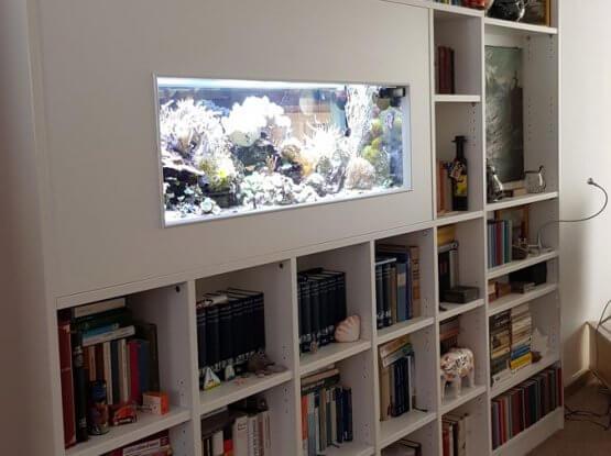 Einbau Bücher Regal